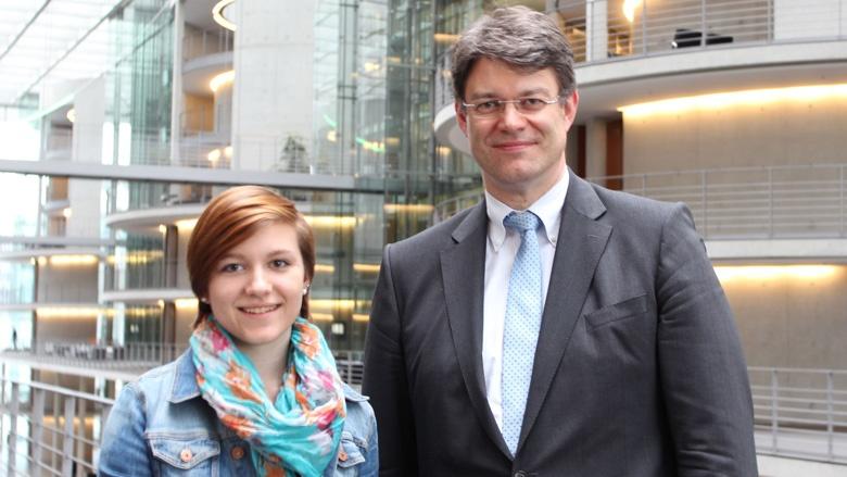 Kirsten Schmitz geht für ein Jahr in die USA